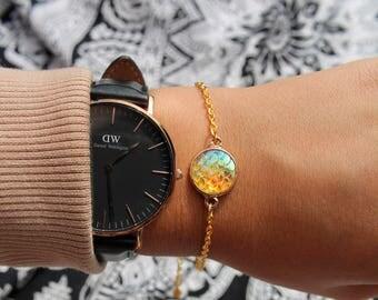 Golden Mermaid Bracelet