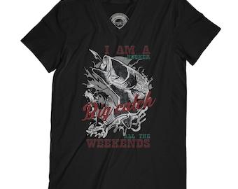 Fathers day shirt fishermen shirt  fishingtrip shirt fishing shirt hooker shirt funny fishing shirt ocean shirt fish shirt  AP36
