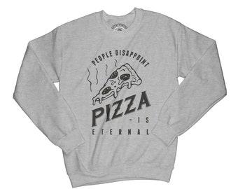 Soft grunge sweatshirt pizza sweatshirt cheese sweatshirt people disappoint shirt hipster sweatshirt holiday sweatshirt   APV209