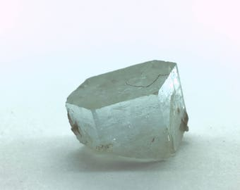 Medium (66 Carat) Terminated Beryl (var. Aquamarine) Crystal for Serenity and Communication