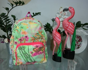 Pink Hawaii Backpack
