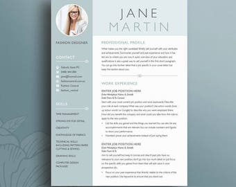 creative resume template 18 clean professional modern cv instant download microsoft