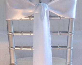 Satin Chair Sash, Bow, Chair, Fabric