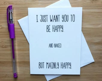 Funny Love Card, Love Card, Funny Greeting Card, Love Greeting Card, Romantic Card, I Love You Cards, Greeting Card