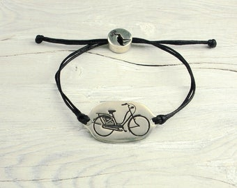 Vintage Bike Friendship Bracelet