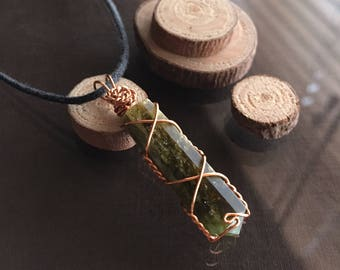 Green Tourmaline Necklace