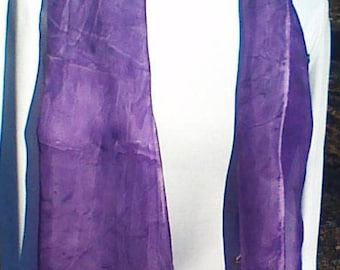 scarves purple/hippie scarf/purple scarf/70's scarves/handmade scarves/silk scarves/ silk scarves long/wraps purple/scarf women/purple scarf