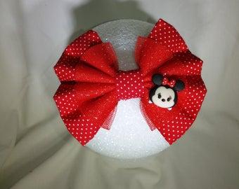 Minnie Mouse Tsum Tsum hair bow
