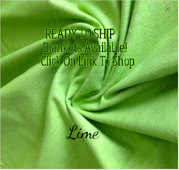 Solid Color, Weighted Blanket, Lime, Up to Twin Size 3 to 15 Pounds.  SPD, Autism, Weighted Blanket.