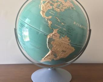 Large 1997 Vintage Nystrom Globe