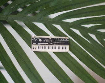 Korg Microkorg Synth Pin - Vocoder - Synthesizer - Micro korg - Handmade
