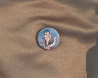 "The Smiths 1"" Button - Morrissey"