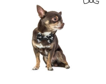 """Pirates dog bow tie - 30% of sales donated to dog shelters """"dog bow tie"""" symbol for animal support"""