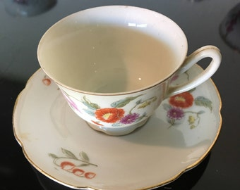 Teacup - Hand Painted in Occupied Japan - Yamaka