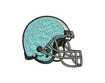 FOOTBALL HELMET - machine embroidery design - Instant Download