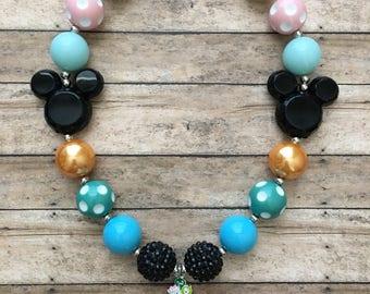 Tsum Tsum Inspired Bubblegum Necklace