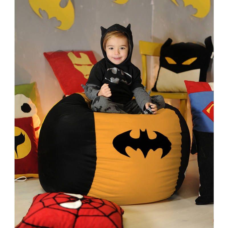 Superhero Kids Bean Bag Cover