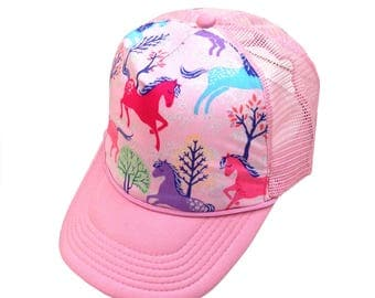 Unicorn Trucker Hat-Youth Size