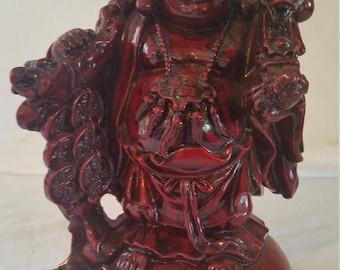 Buddha statue/resin Buddha statue/red buddha statue