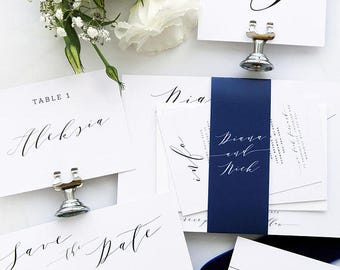 SPECIAL OFFER 34, Wedding Invitations, Save the Date, Menus, Place cards, Table Numbers
