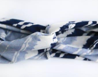 Shibori Knit Headband/Turban