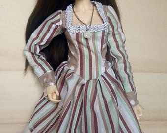 BJD 1/4 cute fantasy mori dress for slim MSD like Minifee, Unoa, Soulkids
