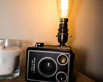Art Deco 1947 Kodak Brownie Six-20 Model C  Camera Lamp