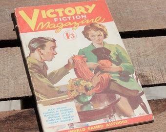 Vintage 1940's Victory Fiction Magazine