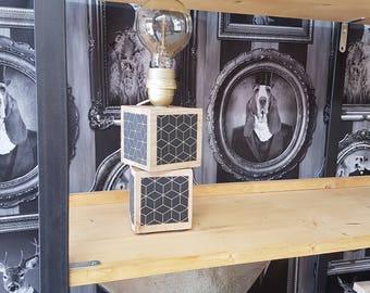 Lampe en bois design scandinave
