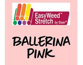 Siser EasyWeed Stretch Heat Transfer Vinyl - HTV - Ballerina Pink