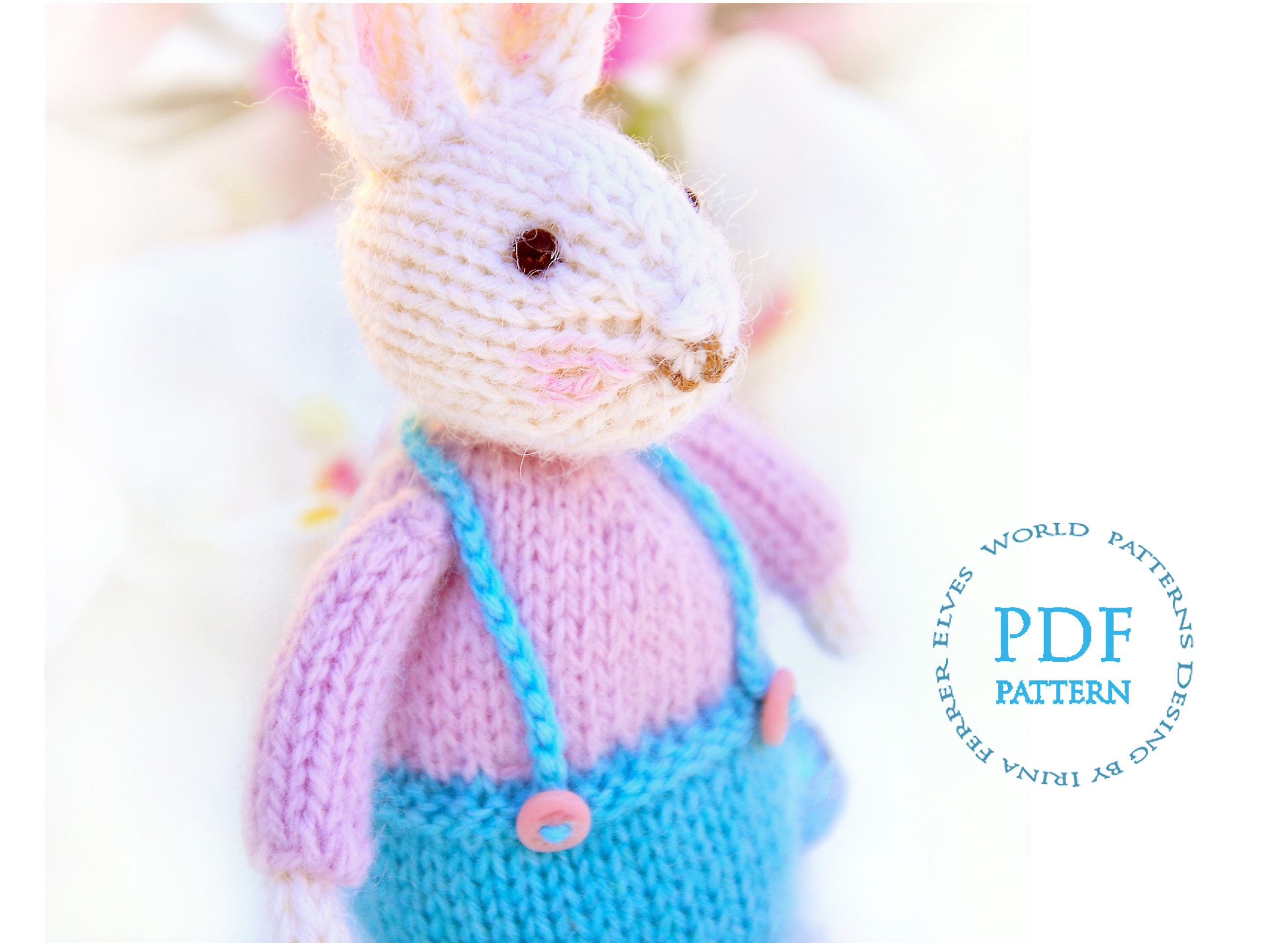 Toy knitting pattern easter bunny knitted rabbit zoom bankloansurffo Choice Image