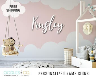 Gift for Baby | Gift for Baby Shower | Gift for Shower | Nursery Name Sign | Name Sign | Gift for Baby Girl | Gift for Baby Boy | DS13
