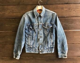 Vintage 90s Levis Lined Denim Jacket