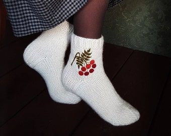 Women's wool socks.