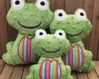 Frog Stuffed Toys - Plush Stuffed Frogs - Stuffed Toys - Baby Stuffed Animals - Soft Toys - Baby Gift