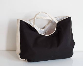 Bag madder cotton canvas tote