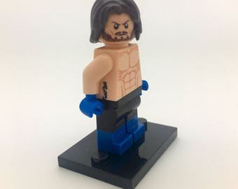 AJ Styles - custom LEGO Minifigure