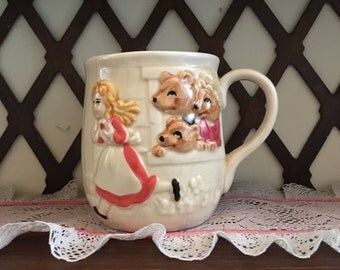 Children's  Storybook Mugs with Handles