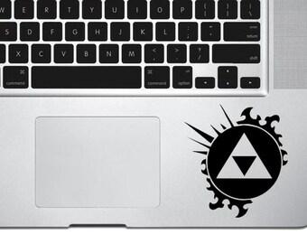 Zelda Triforce Sticker,Zelda Triforce Decal, Zelda Decal, Zelda Sticker, Triforce decal,Zelda Symbol,iPad,3DS,PS4,XBOX,Iphone,Gift