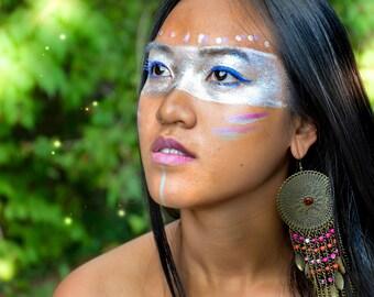 The Native American Faery * FINE ART PHOTOGRAPHY * Fashion Fantasy Portrait