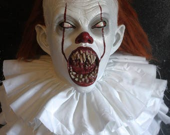 Pre-Order I'll Feed On Your Flesh Pennywise IT clown Latex Horror Prop