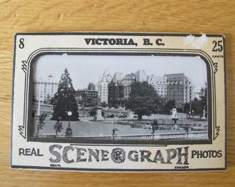 Victoria BC Scene o graph photos (set of 6) / Gowan Sutton photos
