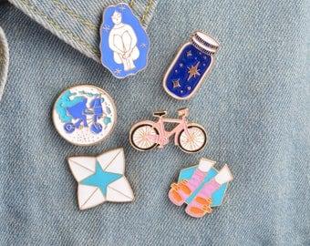 Enamel pin, Brooch, Badge, Funnt pin
