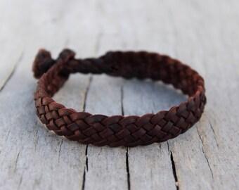 Groomsmen bracelet Couple bracelet Handcraft leather bracelet Gift for him Gift for her Men bracelet woman Personalized bracelet custom