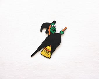 Halloween patch / Witch patch