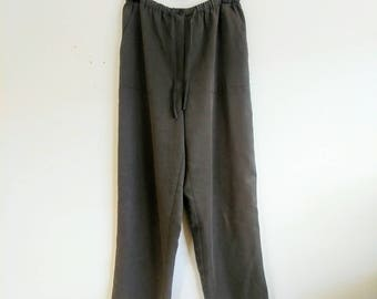 Vintage Tencel Green Pants