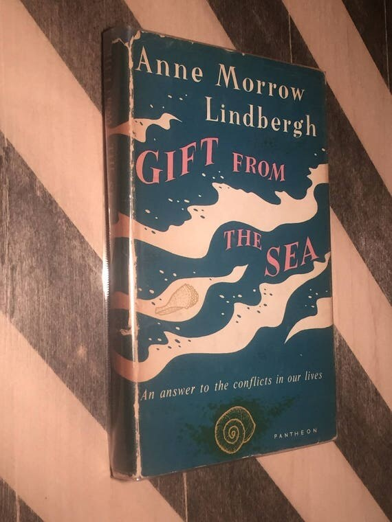 Gift from the Sea by Anne Morrow Lindberg (1955) hardcover book