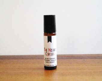 THE NIGHT CIRCUS / Salted Caramel Popcorn Vanilla Rum & Sugar / Book Inspired / Modern Fiction Collection / Roll-On Perfume Oil