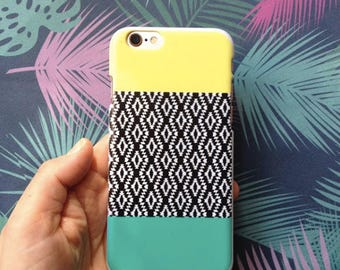 Yellow & Green iPhone 6 Case