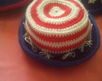 Stars and Stipes Day Hat
